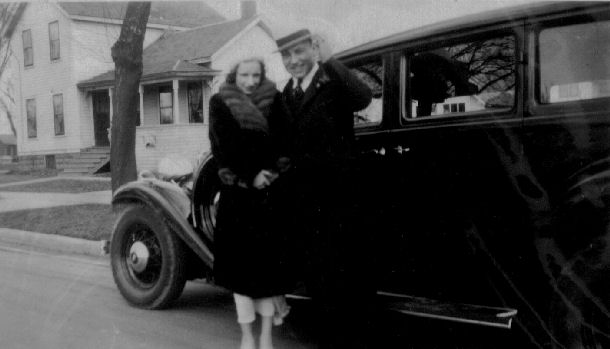 Annabelle and Hilarion Bingen on their wedding day, Feb. 25, 1933
